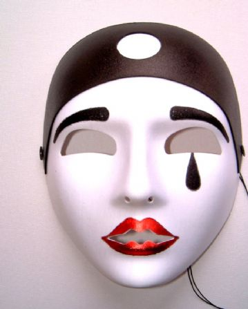 Pierrot Full Face Mask